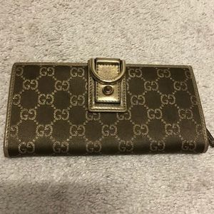 Used Gucci Long Wallet